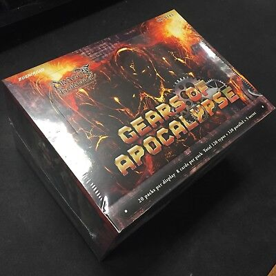 Dragoborne TCG: Gears of Apocalypse Booster Pack Box Factory Sealed
