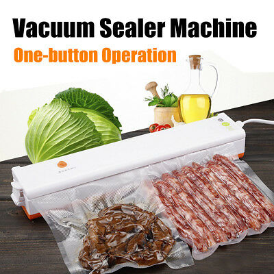 Electric Household Food Vacuum Sealer Professional Machine Film Sealer Packer
