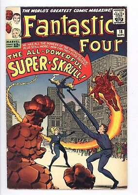 Fantastic Four #18 Vol 1 Very High Grade Unrestored 1st App of the Super-Skrull