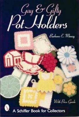 Vintage 40s 50s Pot Holders Book Crochet Spool Cotton