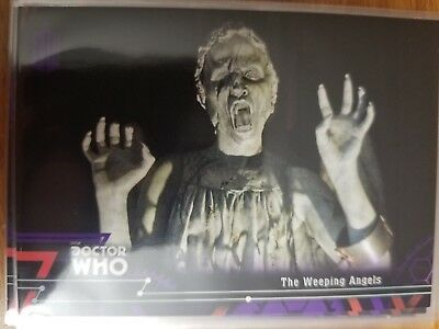 2016 Doctor Who Extraterrestrial Encounters #30 The Weeping Angels PURPLE 47/50
