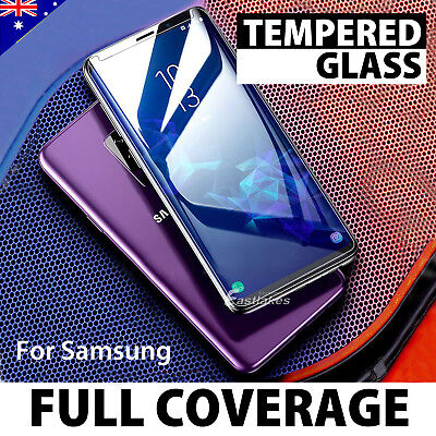 6D Samsung Galaxy S9 S8 Plus Note 9 8 FullCover Tempered Glass Screen Protector