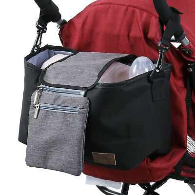 Lifewit Baby Stroller Organizer Storage Diaper Bag  Cup Holder