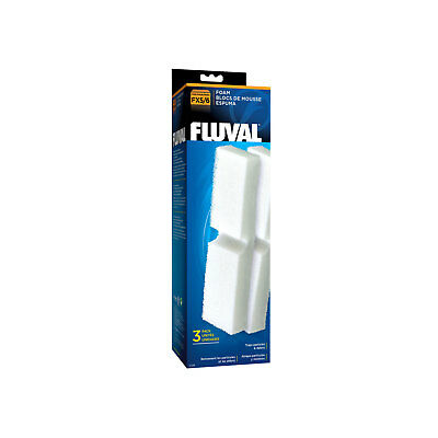 Fluval FX5 FX6 Filter Foam - Pack of 3 - Replacement Media