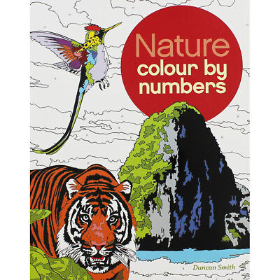 Nature Colour By Numbers by Arcturus (Paperback), Non Fiction Books, Brand New