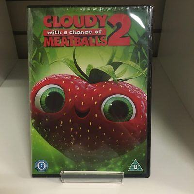 Cloudy With A Chance Of Meatballs 2 DVD - New and Sealed Fast and Free Delivery