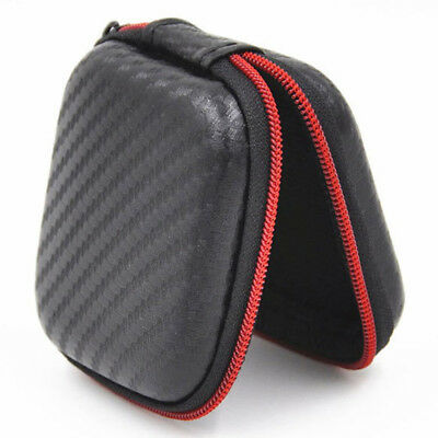 Small Square Earphone Bag Headphone Mp3 Case USB Cable Cover Storage Bag Box