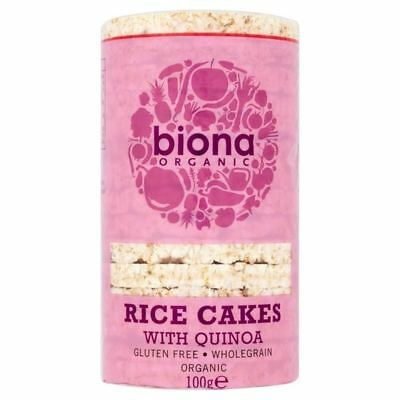 Biona Organic Rice Cakes With Quinoa 100g (Pack of 2)