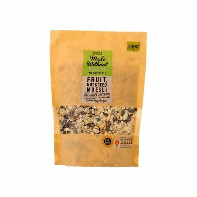 Marks & Spencer Made Without Wheat Fruit, Nut & Seed Muesli 500g (PACK OF 4)