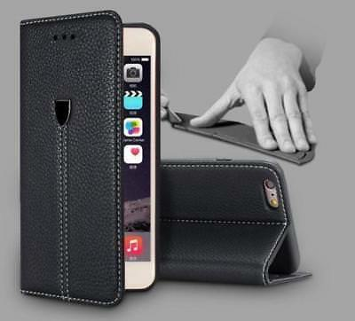 Luxury Magnetic Flip Cover Stand Wallet Leather Case For iPhone 6 6s 7 8 XS XR