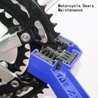 Motorcycle Cleaner Tools Universal Gear Chains Maintenance Cleaning Dirt Brush