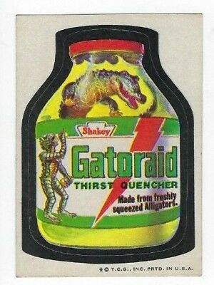 1973 Topps Wacky Packages 4th Series 4 GATORAID THIRST QUENCHER ex+
