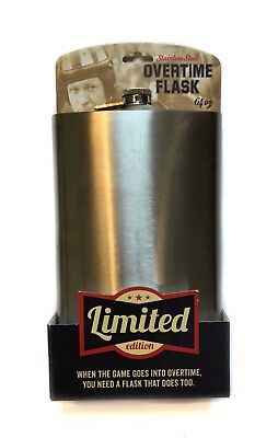NIB Wembley Limited Edition 64oz stainless steel metal flask party novelty gift