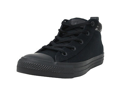 dfd3d20c6c6 CONVERSE Chuck Taylor All Star Street Mid Black Camo Lace Up Sneakers Men  Shoes