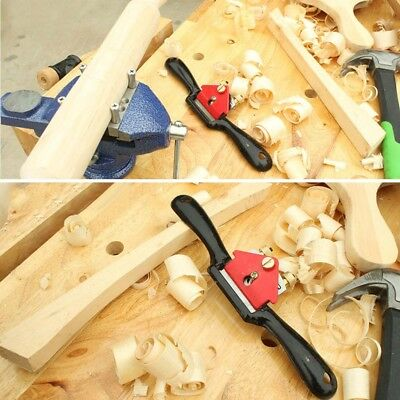 9Inch Adjustable Hand Planer Cut Edge Planer Screw Spoke Shave Woodwork NEW