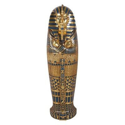 Egyptian Boy King Tut Tomb of the Pharaoh 6 Ft Wall Mounted Sculpture