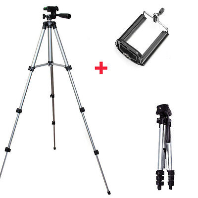 Alloy Camera Camcorder Tripod Stand Mount Holder For Canon Nikon DSLR Cell Phone
