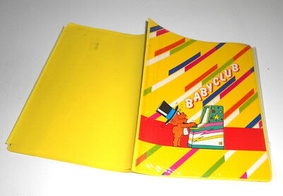BABYCLUB Baby Records 80s italy cover for notebook - copertina copriquaderno