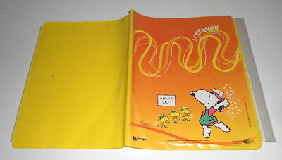 SNOOPY Peanuts 80s Cartorama italy cover for notebook - copertina copriquaderno