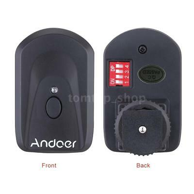 Andoer 16 Channel Wireless Remote Flash Trigger Set for Canon Nikon Sunpak W6O4