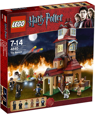 LEGO Harry Potter #4840 The Burrows Pack Set 568pcs Brand New Fast Ship Hobby