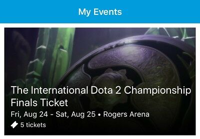 ti8 Tickets