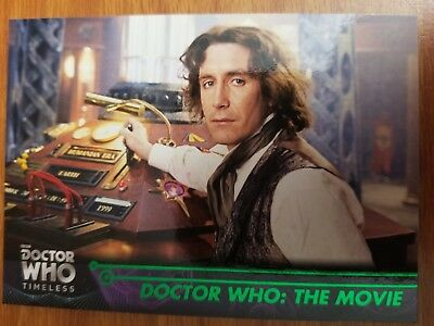 2016 Topps Doctor Who Timeless #37 Doctor Who: The Movie GREEN NrMt-Mint