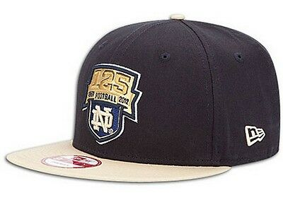 low priced bee7a deb92 Notre Dame Fighting Irish 125 Years Football snapback 9Fifty hat New Era new