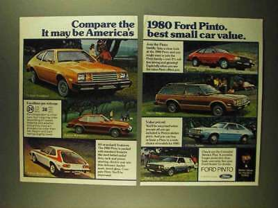 1979 Ford Pinto Ad - Runabout, Rallye, Squire Wagon