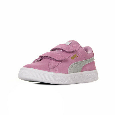 Chaussures Baskets Puma fille Suede Classic V PS taille Rose Cuir Scratchs 05b9316a779b