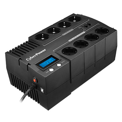 CyberPower Systems BR1200ELCD CyberPower BR1200ELCD Line-Interactive 1200VA 8AC