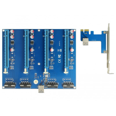 Delock 41427 41427 Internal PCIe - USB 3.0 interface cards/adapter PCI Express