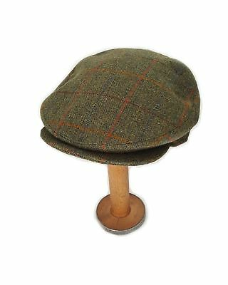 Yorkshire Hand Tailored Tweed Helmsley Flat Cap in Derwent Green MADE IN  BRITAIN 0352b69f501e