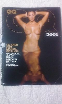 Calendario Monica Bellucci 2001