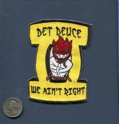 VRC-40 RAWHIDES DET 2 DUECE US NAVY GRUMMAN C-2 GREYHOUND Squadron Patch
