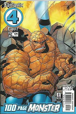 FANTASTIC FOUR #54 (100 PAGES) (MARVEL)(3rd SERIES) VF+