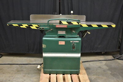 """Jointer, 8"""" x 65"""", Model 60, 2hp, 1PH, Single phase Powermatic Houdaille, Tested"""