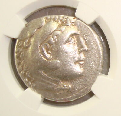 Phoenicia, Aradus Alexander III the Great Ancient Greek Silver Tetradrachm NGC