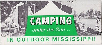 1960's Camping In Outdoor Mississippi Brochure