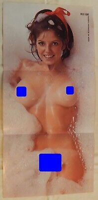 Debbie Davis June 1972 Playboy Centerfold Pin Up Poster