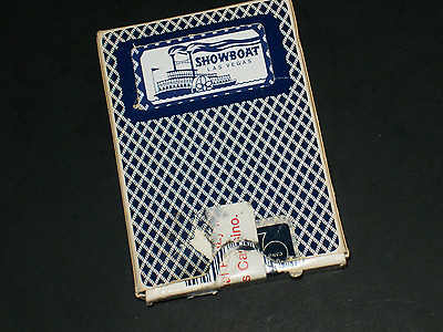 Former Las Vegas Showboat Retired Bee Brand Deck Of Playing Cards