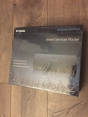 D-Link Unified Services Router 8-Port 10/100 Wired Router (DSR-150)