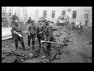 1944 German Soldiers PHOTO Budapest Hungary World War 2 Germany Wehrmacht Army