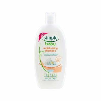 Simple Baby Moisturising Shampoo 300ml (Pack of 4)