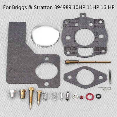 Carburetor Replace Kit For Briggs & Stratton 394989 10HP 11HP 16 HP Engines Easy