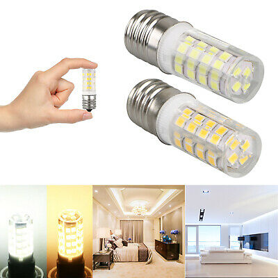 2x Mini Candelabra LED E17 Base Bulb Dimmable Ceiling Halogen Replacement Light