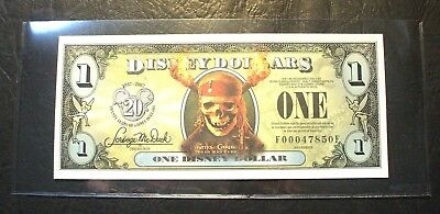 2007 DISNEY DOLLAR- Pirates of the Caribbean- Flying Dutchman - F Series - Mint