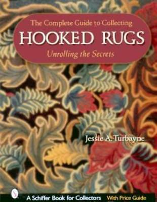 Collecting Hooked Rugs Book Vintage Wool Folk Hooking