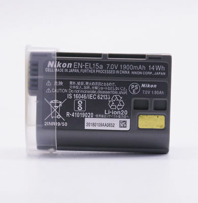 2 x New OEM EN-EL15A EN-EL15 Battery For Nikon D7100 D750 D610 D7500 D7200 MH-25