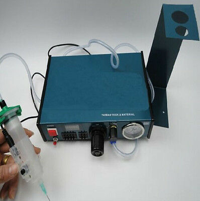 220V Liquid  Auto&Manual Solder Paste Glue Dropper Dispenser Controller 983A